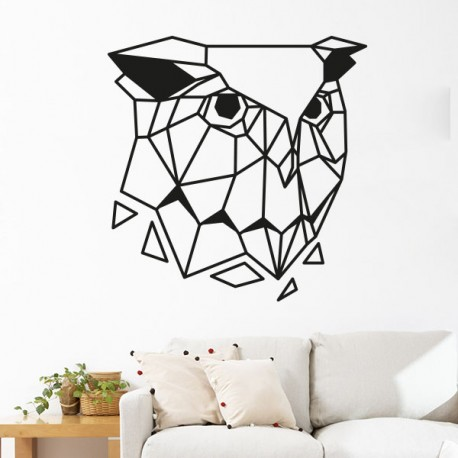 stickers chouette hibou origami