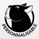 Stickers chien personnalisable Bulldog