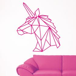 sticker mural licorne