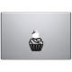 sticker macbook cupcake muffin