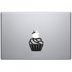 sticker macbook cupcake muffin