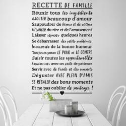 stickers recette de famille cuisine