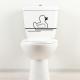 sticker Canard WC toilette