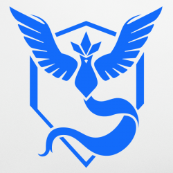 Sticker Team Mystic - Pokémon GO
