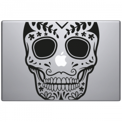 Crâne mexicain Macbook