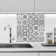 sticker decoration carrelage carreaux ciment salle de bain cuisine
