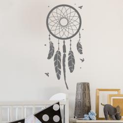 sticker deco mural chambre enfant attrape reve dream capteur de rêves