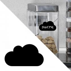 étiquette autocollant sticker nuage craie cuisine