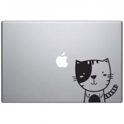sticker macbook sacha le chat mignon