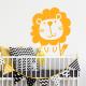 Sticker lion aminimaux animaux déco enfant mignon