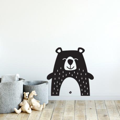 sticker ours aminimaux animaux mignon enfant deco
