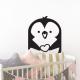 pingouin sticker aminimaux animaux enfant deco chambre mignon