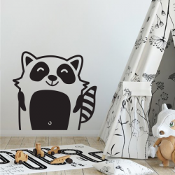 raton aminimaux animaux sticker deco enfant mignon animal