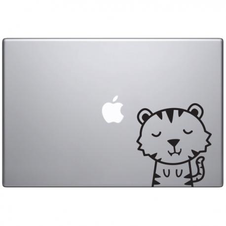 Macbook sticker animaux  Timmy le tigre
