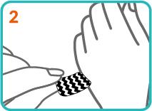 notice pose pochoirs nail art